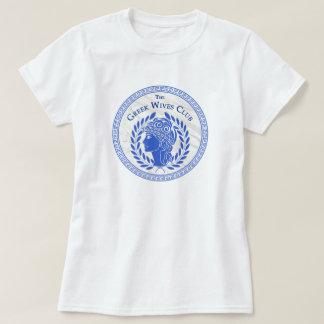 Le T-shirt grec de club d'épouses