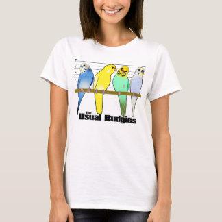 Le T-shirt habituel de perruches