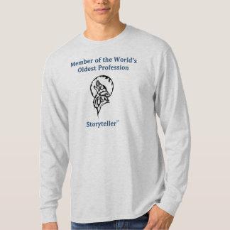 Le T-shirt humoristique des longs hommes de