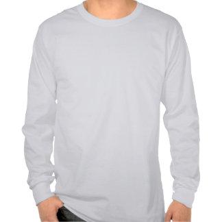 Le T-shirt humoristique des longs hommes de douill