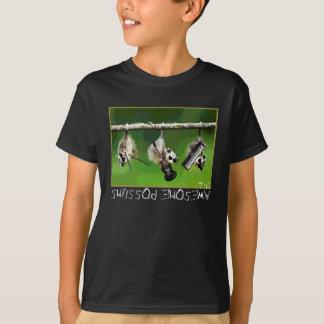 le T-shirt impressionnant d'opossums