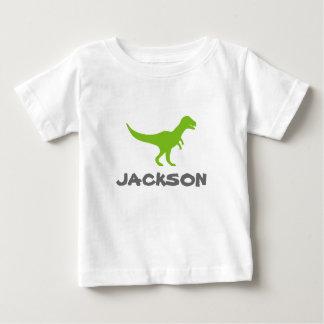Le T-shirt infantile de dinosaure de Trex avec la