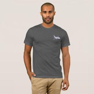 Le T-shirt mou superbe des hommes d'avion -