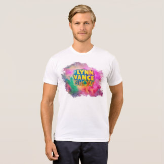 Le T-shirt multi de couleur d'exposition de Lynn