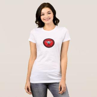 le T-shirt nerd de la femme d'ÉPICE de troupeau