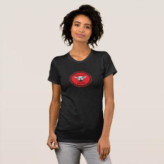 le T-shirt nerd des femmes d'ÉPICE de troupeau