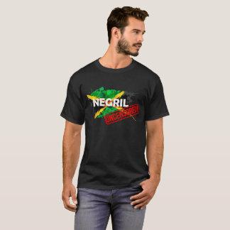 Le T-shirt noir des hommes NON CENSURÉS de Negril