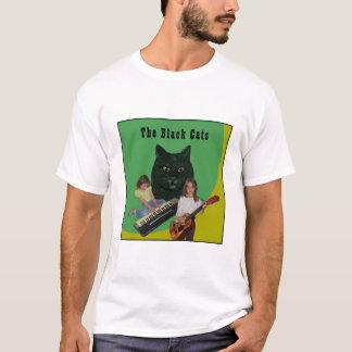 Le T-shirt officiel de bande de chats noirs