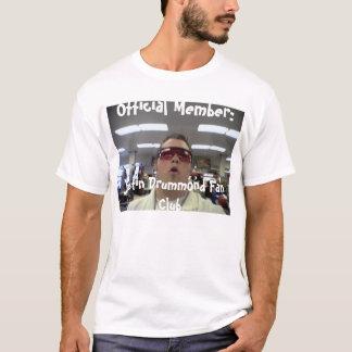 Le T-shirt officiel de club de fan de Justin
