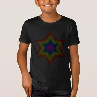 Le T-shirt organique des garçons foncés de Burst™