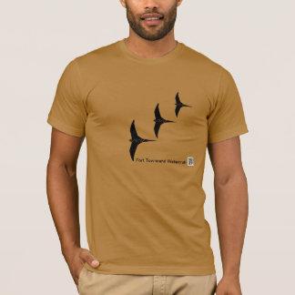 Le T-shirt organique des hommes PT11, naturel