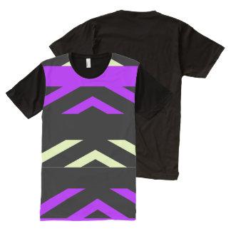 Le T-shirt partout des hommes géométriques