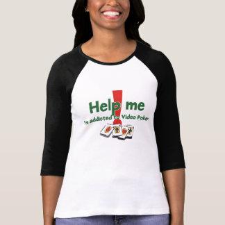 Le T-shirt raglan des dames visuelles de tisonnier