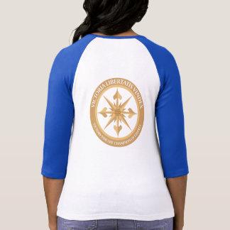 Le T-shirt raglan des femmes de DMGS