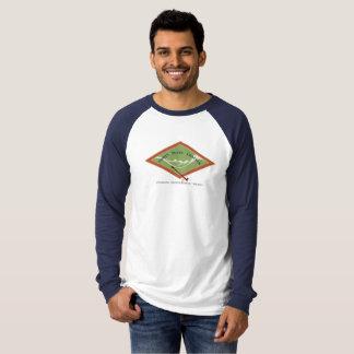 Le T-shirt raglan des hommes d'IPCAS