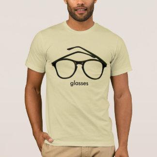 Le T-shirt semi adapté nerd des hommes roses en