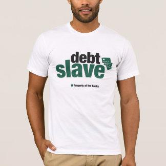 Le T-shirt slave des hommes de dette
