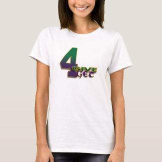 le T-shirt vert des femmes de 4-Give 4-Get 4 Favre