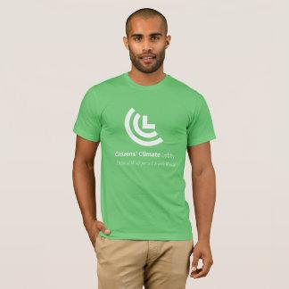 Le T-shirt vert des hommes de volonté politique