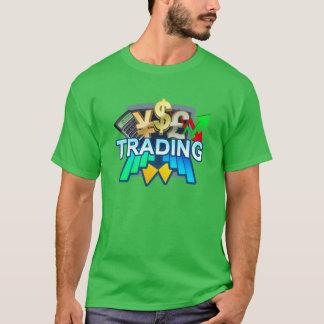 Le T-shirt vert des hommes marchands