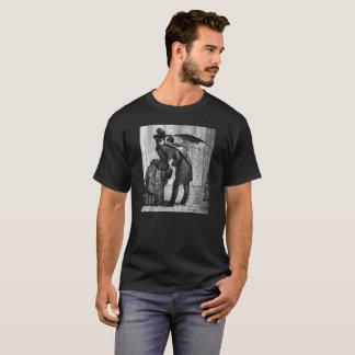 Le T-shirt victorien vintage des hommes de