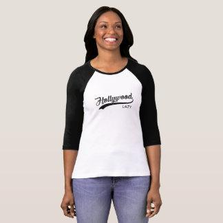 Le T-shirt vintage des femmes paresseuses de