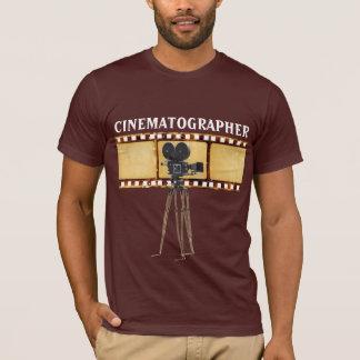 Le T-shirt vintage des hommes de bande de film de