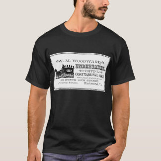 Le T-shirt vintage des hommes gothiques d'horreur