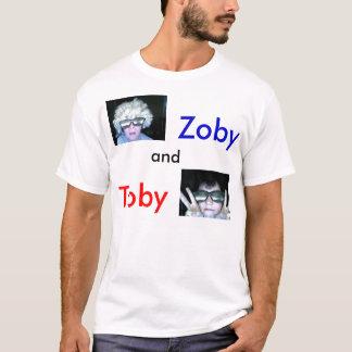 le T-shirt zoby et de Toby de fonctionnaire