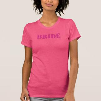 Le T-shirts de jeune mariée CHOISIT VOTRE COULEUR