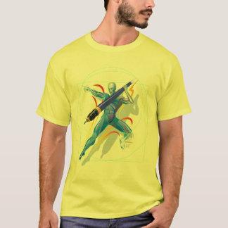 Le T-shirts de lanceur de javelot
