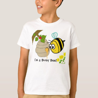 Le T-shirts de l'enfant mignon de fourmi