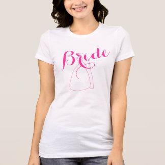 Le T-shirts des femmes de cadeaux de wedding