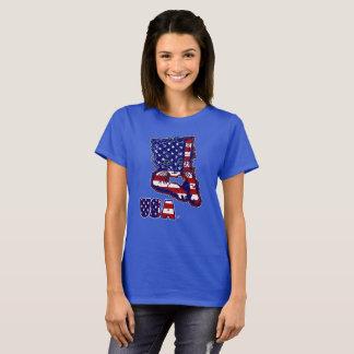 Le T-shirts des femmes des Etats-Unis Kitty