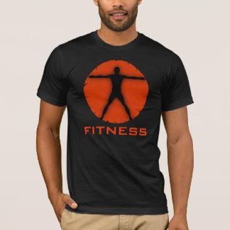 Le T-shirts des hommes d'homme de Vitruvian de
