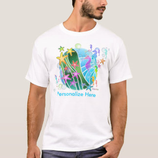 Le T-shirts léger des hommes - sous l'art de bruit