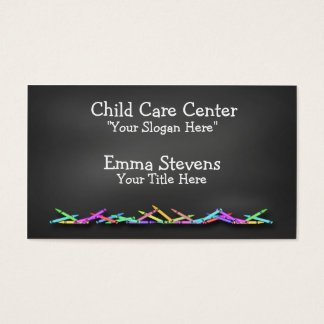 Le tableau de Childcare crayonne le carte de