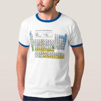 Le Tableau des éléments périodique T-shirt