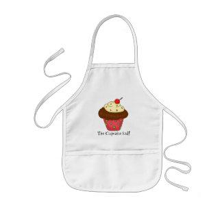 Le tablier d'enfant de petit gâteau
