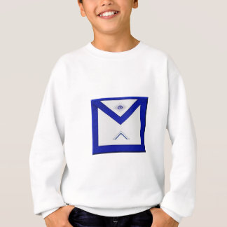 Le tablier du maître de franc-maçon sweatshirt