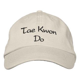 Le Taekwondo - casquette de baseball en pierre