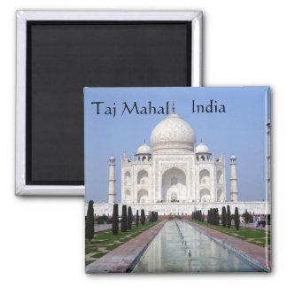 Le Taj Mahal, Âgrâ, Inde Aimants Pour Réfrigérateur