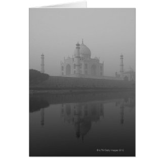 Le Taj Mahal, Âgrâ, uttar pradesh, Inde 3 Carte De Vœux