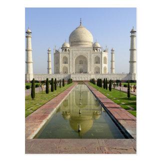 Le Taj Mahal, Âgrâ, uttar pradesh, Inde, Carte Postale