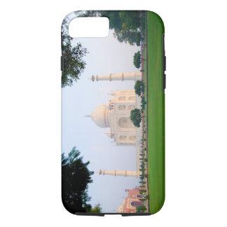 Le Taj Mahal au lever de soleil un des merveilles Coque iPhone 7