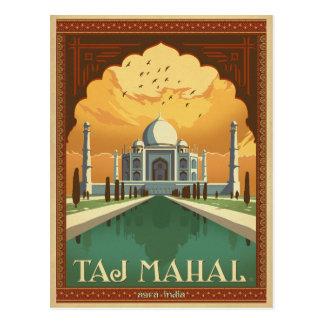 Le Taj Mahal, Inde Carte Postale