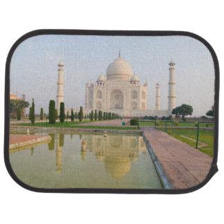 Le Taj Mahal paisible tranquille au lever de Tapis De Voiture