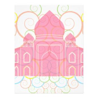 Le Taj Mahal rose Prospectus 21,6 Cm X 24,94 Cm