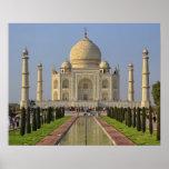 Le Taj Mahal, un mausolée situé à Âgrâ, Inde, 2 Poster