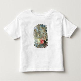 Le tambour de basque (la semaine sur le papier) t-shirt pour les tous petits